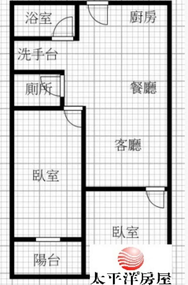 E284龍華麥當勞3樓美寓,新北市樹林區龍興街